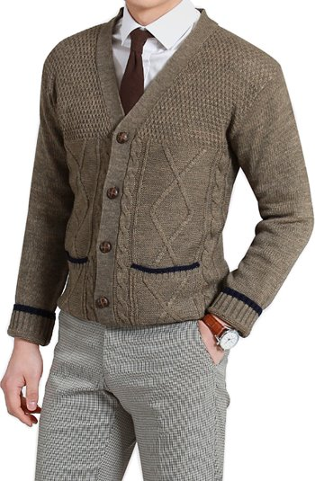 27946 Color Point Y Cardigan